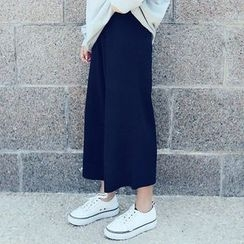 YUKISHU - Wide Leg Knit Pants