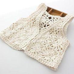 ninna nanna - Crochet Knit Vest