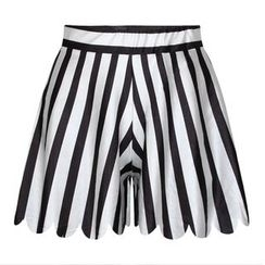 Omifa - Striped Shorts