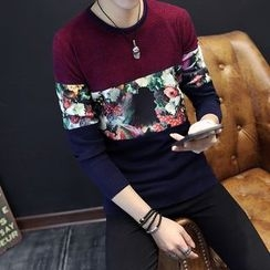 Best Gang - Long-Sleeve Printed Top