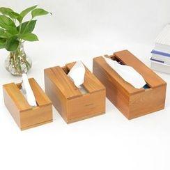 Foresty - Wooden Tissue Box