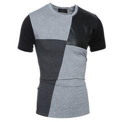 Hansel - 撞色T恤