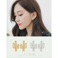 soo n soo - Cactus Earrings