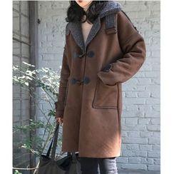Oaksa - Hooded Long Coat