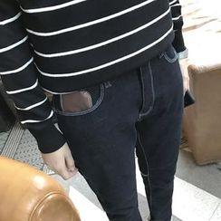 Harvin - Fleece Lined Straight-Cut Jeans