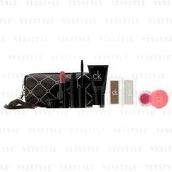 Calvin Klein 卡爾文克來恩 - MakeUp Set With Brown Cosmetic Bag