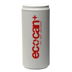 Eco Concepts - Eco Can Plus Gray with Red Print (450ml)