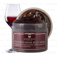 Annie's Way - Italy Red Wine Jelly Mask