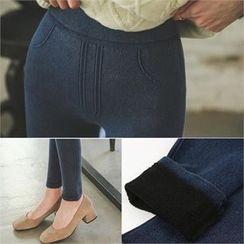 ode' - Band-Waist Skinny Pants