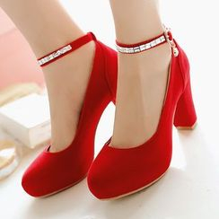 CITTA - Block Heel Pumps