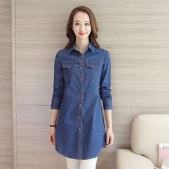 Neeya - Long Denim Shirt
