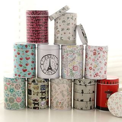 Lazy Corner - Print Tea Tin