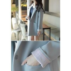 MyFiona - Notched-Lapel Single-Button Jacket