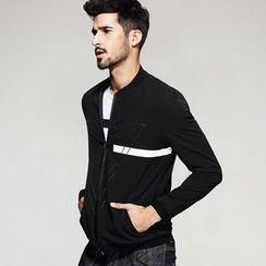 Quincy King - Print Zip Jacket