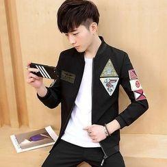 DTT - Applique Zip Jacket