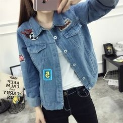 Neeya - Applique Denim Jacket