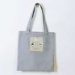 BABOSARANG - Character Canvas Shopper Bag