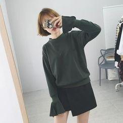 Eva Fashion - 喇叭袖口套衫