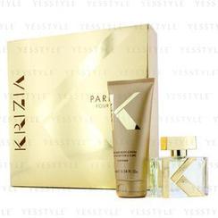 Krizia - Pour Femme Coffret: Eau De Parfum Spray 30ml/1oz + Body Lotion 100ml/3.38oz