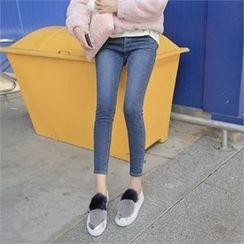 TOM & RABBIT - Washed Skinny Jeans