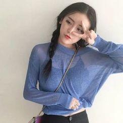 Miss Kekeli - Plain Sheer Sweater
