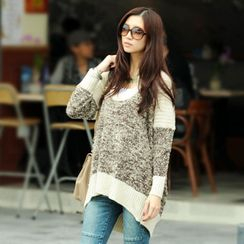 SO Central - Marled Knit Sweater