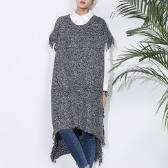 Sens Collection - Fringed Poncho