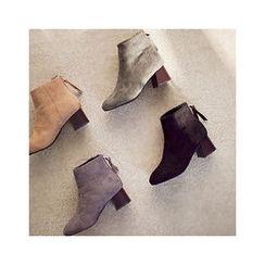 MASoeur - Faux-Fur Lined Ankle Boots