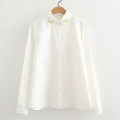 ninna nanna - 刺繡襯衫