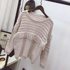 Polaris - Fringe Sweater
