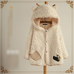 Angel Love - Ear Hooded Furry Jacket