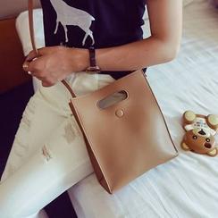Pandabada - Faux-Leather Cross Bag