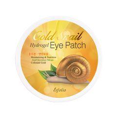 esfolio - Gold Snail Hydrogel Eye Patch 60pcs