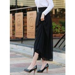BBAEBBAE - Maxi Chiffon Skirt