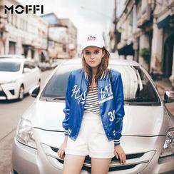 MOFFI - Letter Baseball Jacket
