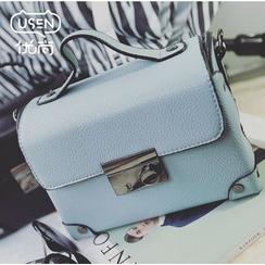 Youshine - Push Lock Top Handle Crossbody Bag