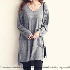 NANING9 - Oversize T-Shirt Dress