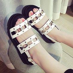 QQ Trend - Studded Sandals