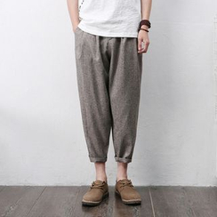 Mrlin - Cropped Harem Pants