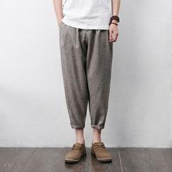Mrlin - 短款哈伦裤