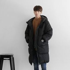 Seoul Homme - Hooded Thick Padded Coat