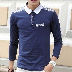 Fesso - Printed Polo Shirt