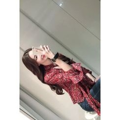 ATTYSTORY - Patterned Chiffon Blouse