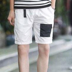 NINETTE - Front-Pocket Shorts