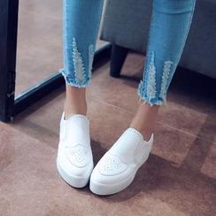 佳美 - 布洛克厚底輕便鞋