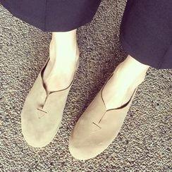 QQ Trend - 仿麂皮轻便鞋