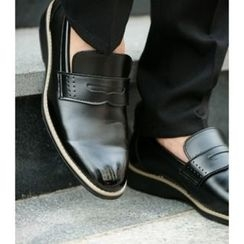 ABOKI - Faux-Leather Loafers