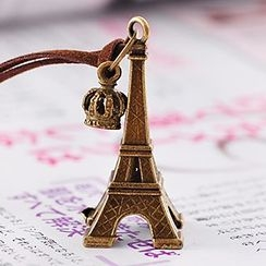 Oohlala! - Eiffel Tower Long Necklace