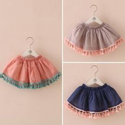Seashells Kids - Kids Fringe Skirt