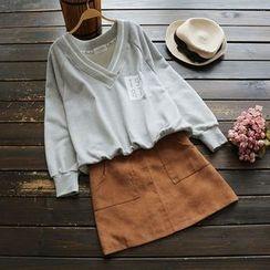 YOYO - Lettering Pullover